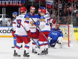 Хоккей. ЧМ-2017. Сборная России одержала рекордную победу над Италией - 10:1