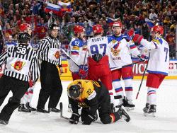 Хоккей. ЧМ-2017. Россия, США, Канада и Чехия в третьем туре добились очередных побед
