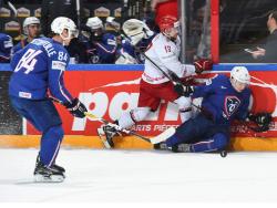 Хоккей. ЧМ-2017. Белоруссия набрала первое очко, проиграв лишь по буллитам французам