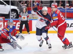 Хоккей. ЧМ-2017. Сборная США, прервав победную серию россиян, заняла первое место в группе