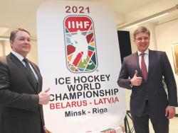 Конгресс IIHF: Столицы Латвии и Белоруссии примут чемпионат мира по хоккею 2021 года