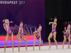 Юниоры Эстонии заняли седьмое место на чемпионате Европы по художественной гимнастике