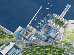 Гавань Ноблесснера: Территория военного завода превратится в жилой район и часть променада