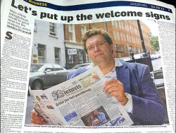 ММК `Импрессум` 15 июня приглашает на встречу с издателем из  Ирландии Сергеем Тарутиным