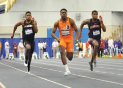 Легкая атлетика. Студент из США Кристиан Колеман пробежал 100 метров за 9,82 секунды
