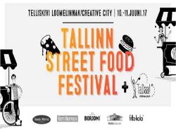 В центре столицы Эстонии два дня будут проходить фестивали уличной еды и уличных артистов