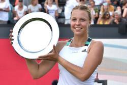 Теннис. Эстонка Анетт Контавейт выиграла первый турнир WTA в карьере!