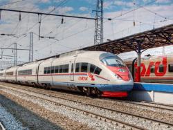 Российская железная дорога пока не планирует запуск поезда `Сапсан` из Петербурга в Таллин