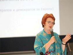 Евродепутат Яна Тоом борется за права ликвидаторов-чернобыльцев на уровне Европарламента