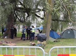 `Ива на Хааберсти`: Проведена полицейская операция, задержаны семеро протестующих