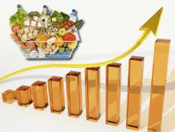 Институт конъюнктуры ЭР зарегистрировал самую высокую стоимость продовольственной корзины