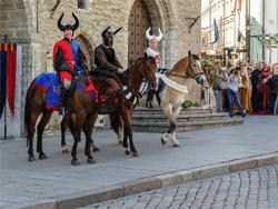 С 6 по 9 июля 2017 года Старый Таллин вновь станет средневековым ганзейским городом