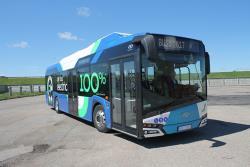 С 15-го августа в столице Эстонии начнется тестирование электроавтобуса