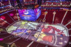 Хоккей. В Детройте построили невероятную суперсовременную арену Little Caesars