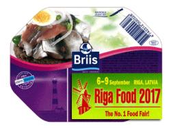 Продукция под эстонской торговой маркой Briis получила медали на выставке Riga Food-2017
