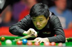Снукер. Китаец Дин Джуньху в финале World Open разгромил англичанина Кайрена Уилсона