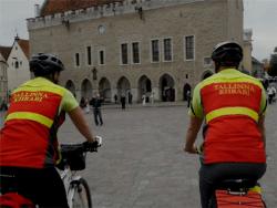 Власти Таллина подвели итоги работы велопатруля скорой медпомощи за лето 2017 года
