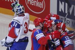 Хоккей. ЧМ-2012. Россияне переиграли норвежцев, а команда Латвии одолела Германию