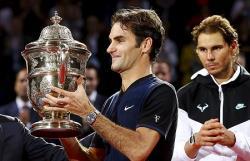 Теннис. Роджер Федерер в финале `Мастерса` нанес поражение первой ракетке мира