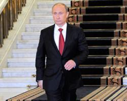Владимир Путин в третий раз вступил в должность президента России