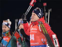 Биатлон. КМ-17/18. Норвежец Тарьей Бё выиграл мужской спринт в Эстерсунде, Фуркад - второй