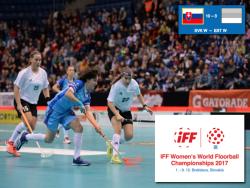 Флорбол. ЧМ-2017. Эстонские девушки во втором туре крупно проиграли команде Словакии