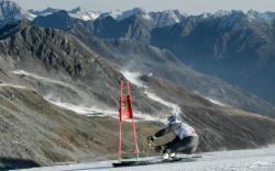 Горные лыжи. КМ-2017/18. Марсель Хиршер на трассе слалома-гиганта уступил Алексису Пинтуро