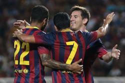 Футбол. Чемпионат Испании. `Барселона` в Мадриде уничтожила столичный `Реал`
