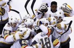 НХЛ-2017/18. `Рыцари` довели победную серию до семи встреч, пятый шат-аут Василевского