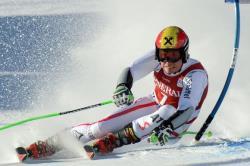 Горные лыжи. КМ-2017/18. Даже падение не помешало Марселю Хиршеру выиграть в Адельбодене