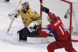 Хоккей. ЧМ-2012. Хоккейная `Полтава` в Стокгольме закончилась победой сборной России