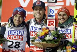 Прыжки с трамплина. Норвежец Даниэль Андре Танде стал чемпионом мира по полетам