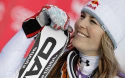 Горные лыжи. КМ-2017/18. Американка Линдси Вонн одержала 80-ю победу в карьере