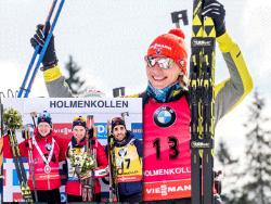 Биатлон. Кубок мира. Норвежский этап  начался с побед Кузьминой и Лабе-Лунда в спринте