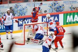 Хоккей. ЧМ-2012. Россияне одолели в четвертьфинале норвежцев, а канадцы проиграли Словакии