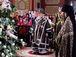 19 апреля 2018 года ушёл из жизни митрополит Таллинский и всея Эстонии Корнилий