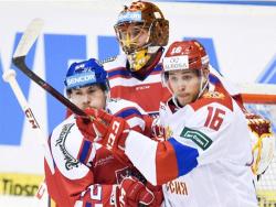 Хоккей. Евротур. Вновь 1:2: Россияне проиграли и третий матч в Чехии, теперь - хозяевам.