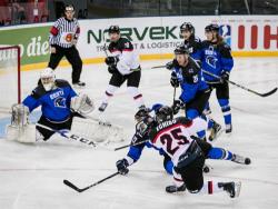 Хоккей. ЧМ-2018. Эстония стартовала в дивизионе IB с поражения от Японии в овертайме