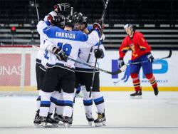 Хоккей. ЧМ-2018. Сборная Эстонии, одолев Румынию, продолжает борьбу за медали