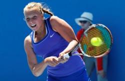 Теннис. Эстонка Анетт Контавейт на крупном турнире в Штутгарте дошла до полуфинала