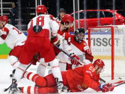 Хоккей. ЧМ-2018. Сборная России разгромила Белоруссию и делит лидерство с командой Швеции