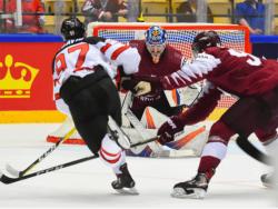 Хоккей. ЧМ-2018. Сборная Латвия довела матч с Канадой до дополнительного времени