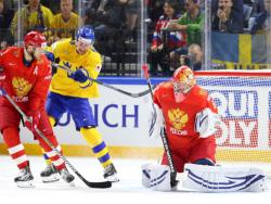 Хоккей. ЧМ-2018. Проиграв Швеции, сборная России в четвертьфинале вышла на Канаду