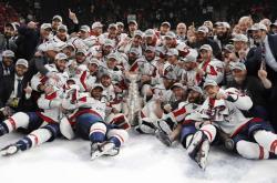Хоккей. `Вашингтон Кэпиталз` впервые в истории стал обладателем Кубка Стэнли!