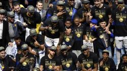Баскетбол. `Голден Стэйт Уорриорз` в шестой раз стали чемпионами НБА!