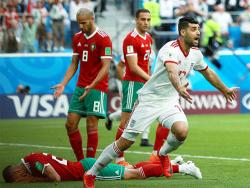 Футбол. ЧМ-2018. Сборная Ирана вырвала победу у Марокко на пятой компенсированной минуте