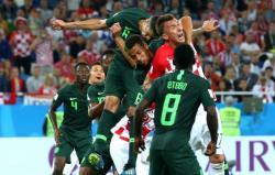 Футбол. ЧМ-2018. Сборная Хорватии уверенно обыграла команду Нигерии, возглавив группу `D`