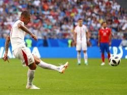 Футбол. ЧМ-2018. Сербия с минимальным счётом переиграла в Самаре команду Коста-Рики