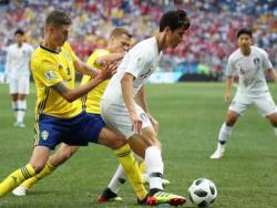 Футбол. ЧМ-2018. В Нижнем Новгороде Швеция лишь благодаря пенальти одолела команду Кореи
