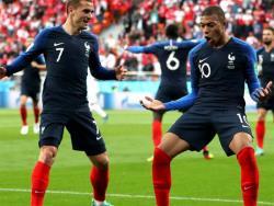 Футбол. ЧМ-2018. Победив команду Перу, сборная Франции гарантировала место в 1/8 финала
